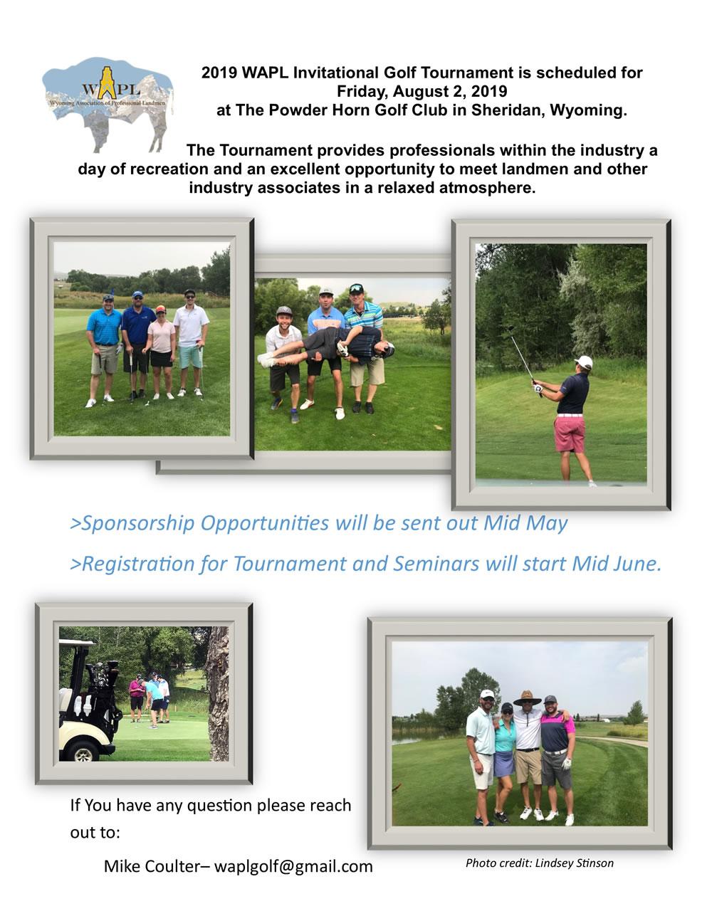 WAPL Golf Flyer 2019