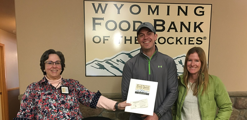 WAPL Donates to Wyoming Food Bank of the Rockies